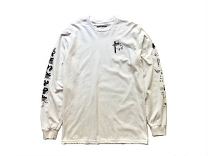 BLOCK LETTERS L/S TEE / FUCKING AWESOME