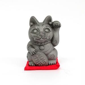 招き猫「招鬼猫きばニャンコ5号」鬼師kumi作