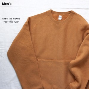 ENDS and MEANS スウェットクルー EM182C014 (Tobacco)