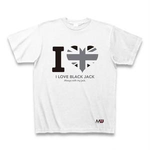 ブラックジャック【A】Tシャツ-I LOVE-
