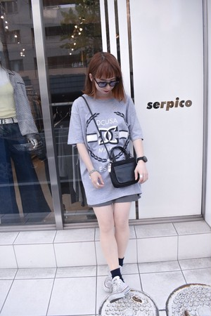 〝DC shoes〟oversized プリントTシャツ