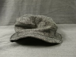 heavylinen chevalier hat / lightgrey