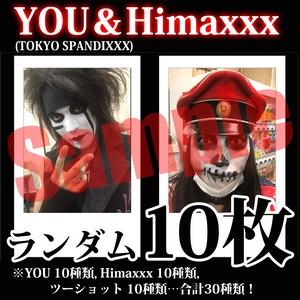 【チェキ・ランダム10枚】YOU&Himaxxx(TOKYO SPANDIXXX)