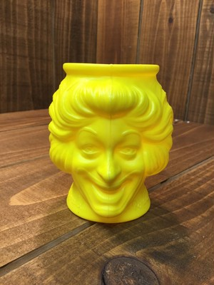 McDonald's Yellow FACE MUG /マクドナルド イエロー マグカップ ロナルド 80s ビンテージ