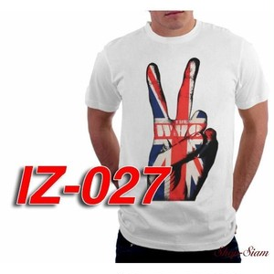 ザ・フー The Who ピース&ユニオンジャック プリントTシャツ