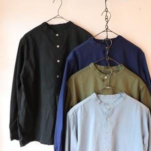 ブルガリアタイプ50'sグランパシャツ(長袖) 4色