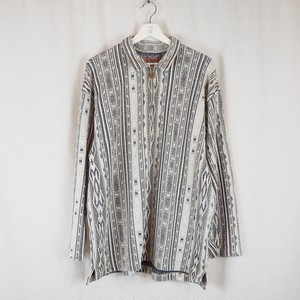 Cotton Half Zip Pullover
