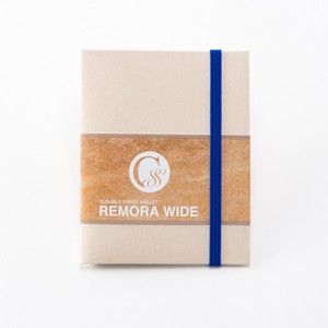 """Durable Paper Wallet """"REMORA Wide"""" / Ivory&Blue"""