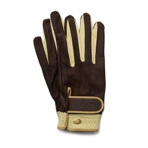 Elegant Golf Glove chocolate-beige