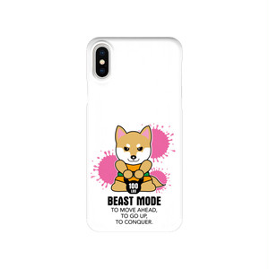 【BEASTMODE】ケトルベル 柴犬 スマホケース