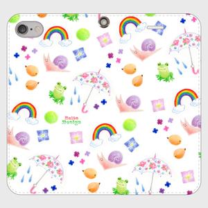 【iPhone6/6s 手帳型】梅雨でなくても使いたいスマホケース