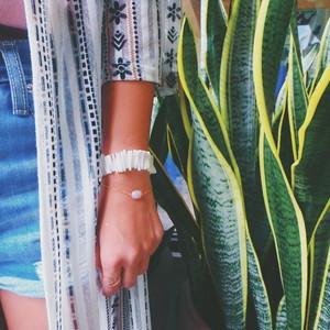 Pink Stone Single bracelet