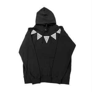 【HYPOCRITE】TRIPTRIANGLE HOODY  BLACK