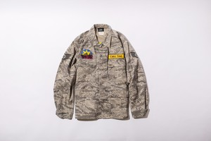 CHILL TIME ACU CAMO ARMY JACKET T-2