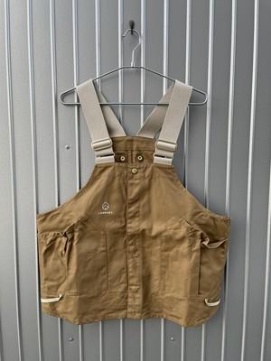 LAND & B.C.(ランド&ビーシー) Hunt vest カーキ