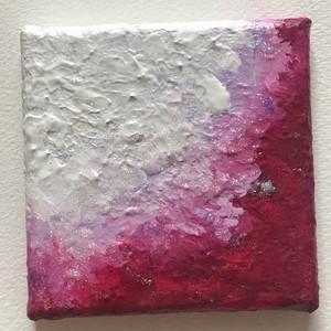 「美しき情熱」 アクリル画