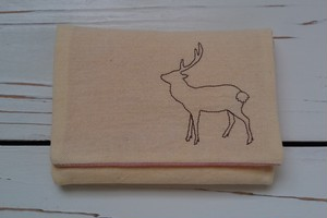 ティッシュケース/鹿