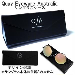 Quay Eyeware Australia キーアイウェアオーストラリア サングラスケース ハード 黒 メガネ 眼鏡入れ スリム 海外ブランド