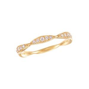 K18YGダイヤモンドリング 010201009021