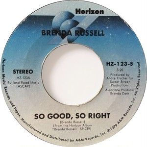 Brenda Russell – So Good, So Right / You're Free