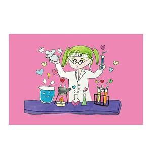 化学ポストカード
