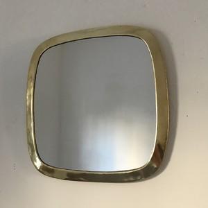 brass wall mirror  335x225