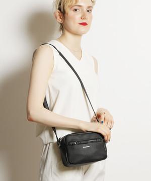 14072900【CONVERSE/コンバース】PU Shoulder Bag/フェイクレザーショルダーバッグ