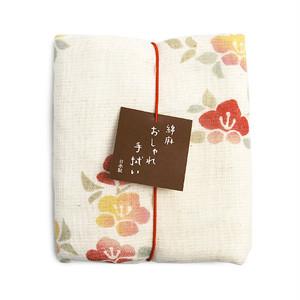 綿麻タオル 椿 [004-00052-001]