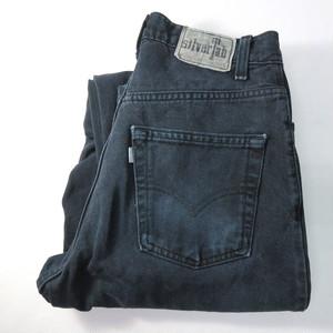 90's LEVI'S Silver Tab Black Denim Pants (リーバイス  シルバータブ ) loose