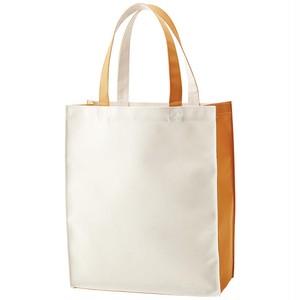 ライトカラートートバッグ オレンジ