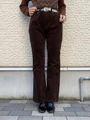 (TOYO) stretch flare pants