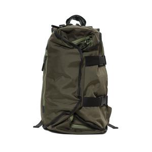 LORINZA Double Strap Backpack Khaki LO-STN-BP01