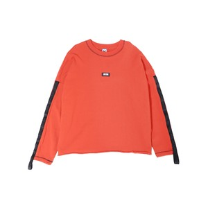MYne TAPE PULLOVER / ORANGE