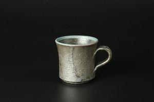 エスプレッソカップ(いぶしトルコ) 信楽焼