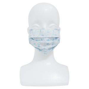 【アップマークサム】いつものマスク姿がオシャレに変身!不織布マスクカバー naamio 夢の国シリーズ【シーグラスタイル】&クレンゼガーゼマスク(一般サイズ)セット