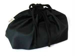 巾着袋ブラック