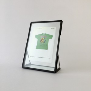 アイアンとガラスのフォトフレーム M|Photo Frame of Iron & Glass M