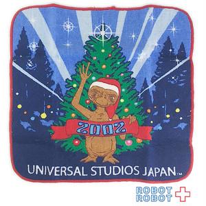 USJ E.T.  ミニハンドタオル 2002 クリスマス
