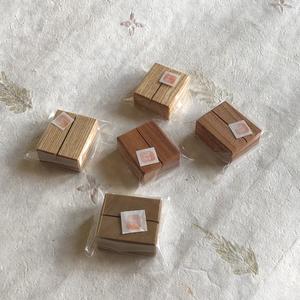 古材カードスタンド(5個セット)