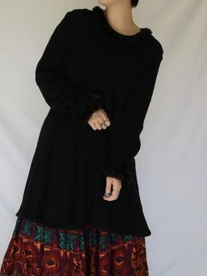 design knit tunic 【0221】
