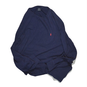 Used☆ POLO Ralph Lauren L/S Tee(navy)