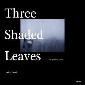 DATA -mp.3   Ákos Garai :: Three Shaded Leaves (for Bernhard Günter) - MATTER010