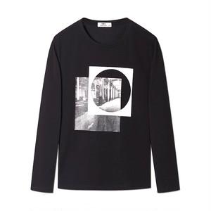 カジュアルプリントTシャツ