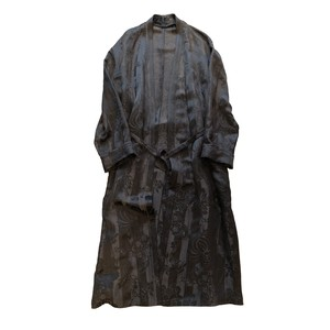 HAIDER ACKERMANN ROBE COAT BROWN