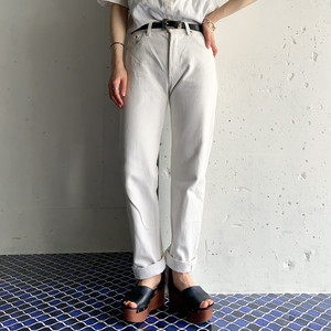 vintage Levi's 501 white denim