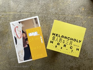 【2冊セット】個人的な三ヶ月 にぎやかな季節+個人的な三月 コロナジャーナル 植本一子