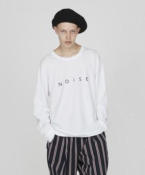 ロゴプリントBIGロングスリーブTシャツ(オフホワイト)
