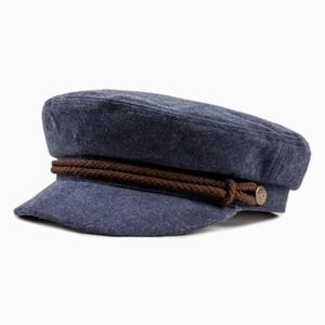 【BRIXTON】FIDDLER CAP /navy×brown