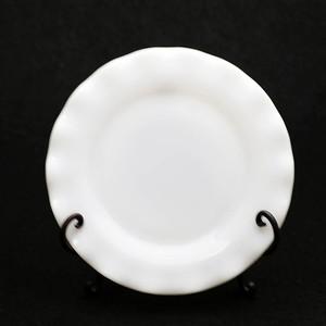 ヘーゼルアトラス リプル ホワイト サラダプレート (221)