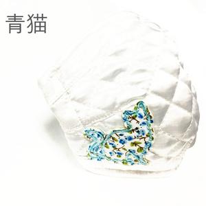ふーじこちゃんママ手作り 洗える立体布マスク サテンタイプ